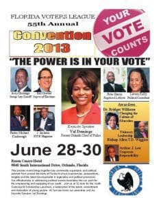 Orange County hosts Florida Voters' League 55th Annual Convention