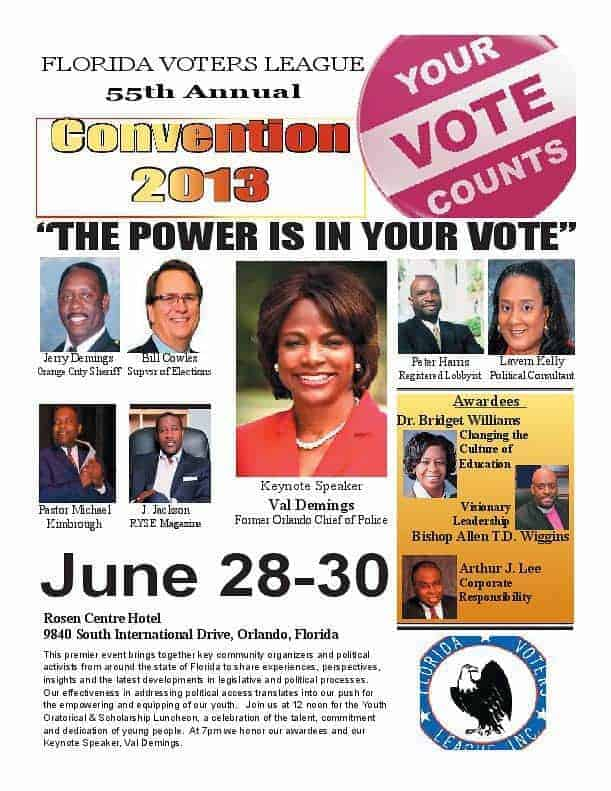 Voters' League 55th Annual Convention Huge Success