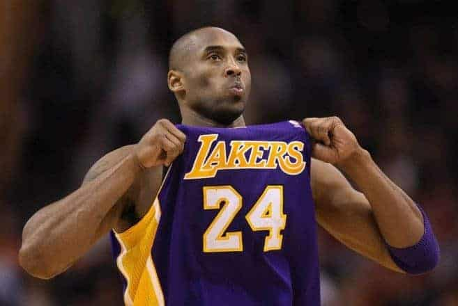 Next season to be Kobe's last in the NBA.   But will it?   PHOTO: Jesus Gomez, SB NATION
