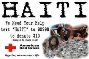 Haiti red cross