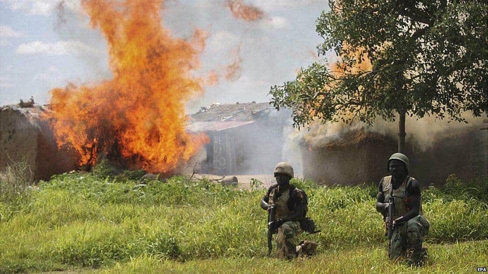 Boko Haram militants targeted Nigeria villagers; At least