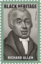 Richard Allen stamp