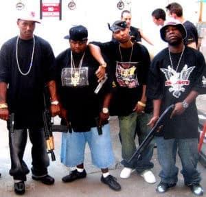 black men with guns