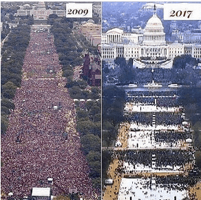 two inaugurations