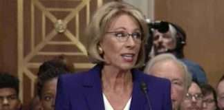 Betsy DeVos heads Dept of Ed
