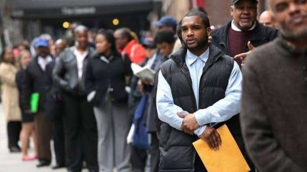 Jobless Rate for Black Men Climbs as Job Creation Slows