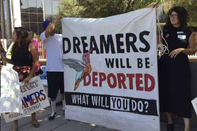 15 states, DC file suit against Trump administration over DACA