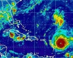 size of hurricane irma