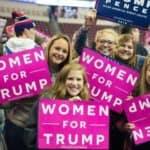 white women supporting Trump