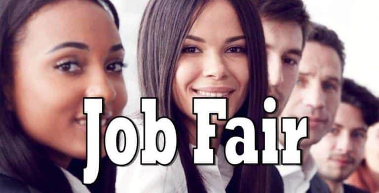 Job Hunting?  Job Fair today