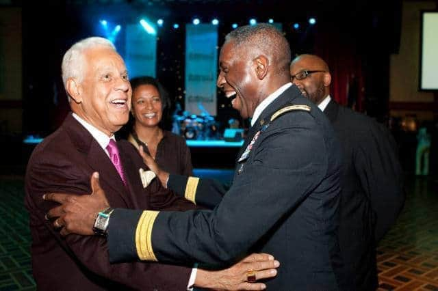 Gen. Ward honored at 100 Black Men of America's national conference