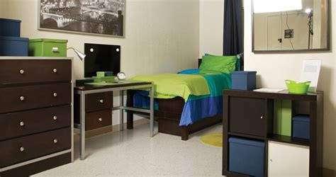 dorm room at Clark Atlanta