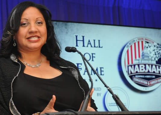 Sarah Gloverm NABJ President
