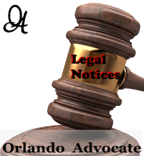 legal notices