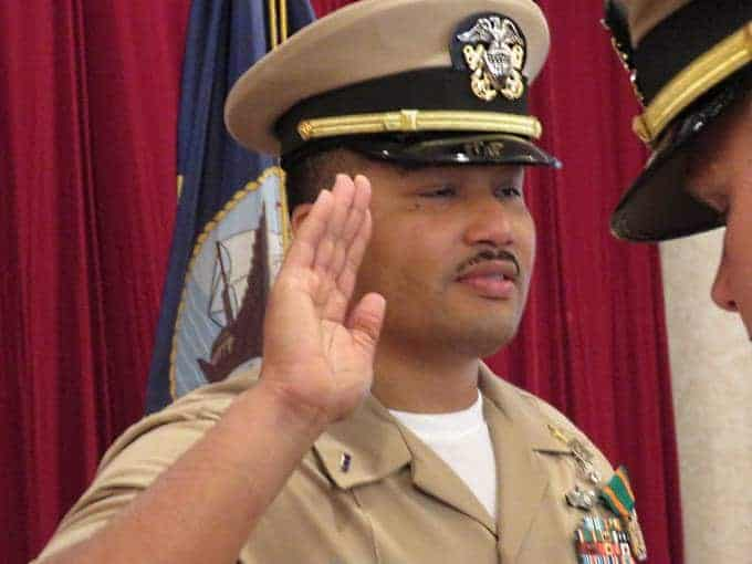 Kissimmee Native Darren Pierson Appointed U.S. Navy Chief Warrant Officer