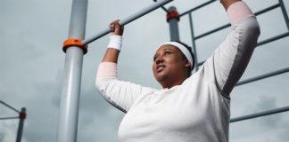 obese black woman