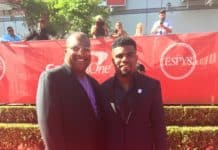 Stacy El-Muhammad (Elliott), and son Ezekiel Elliott