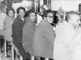Sit-in 60 years ago