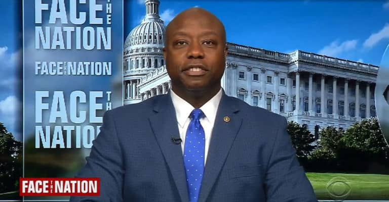 President Trump Tweets Out White Power Message, Black Republican Senator Tim Scott Expresses Dismay