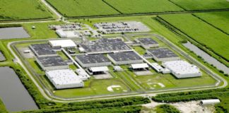 arial view of South Bay prison