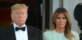 President and Melania Trump