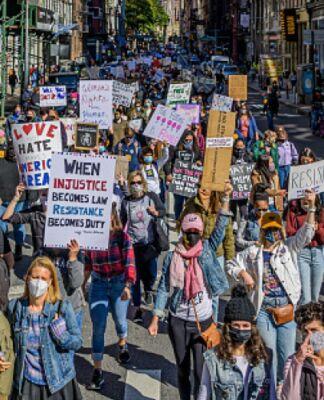 Women's March October 2020