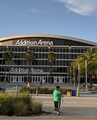 Addition Financial Arena at UCF