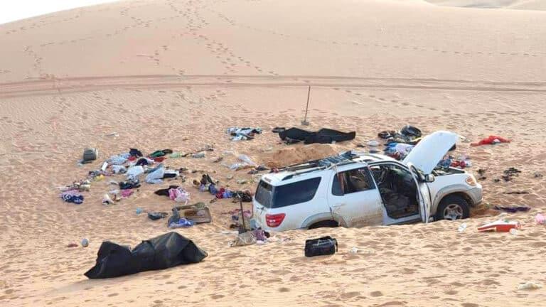 Eight Bodies, Heartbreaking Note Found In Car Stranded In Libyan Desert