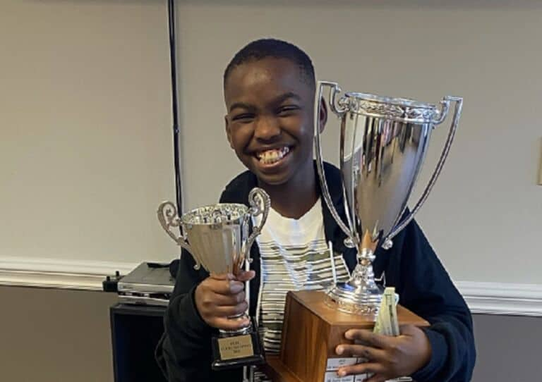 Tanitoluwa Adewumi has become a National Chess Master at the age of 10