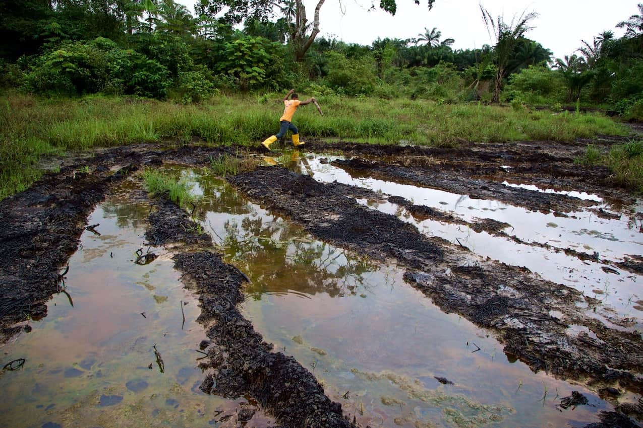 Another Shell Oil spill in Nigeria