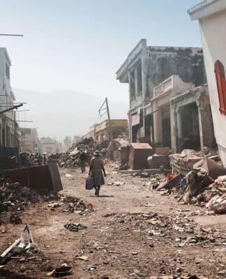 Haiti post earthquake