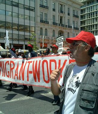 immigrant workers march