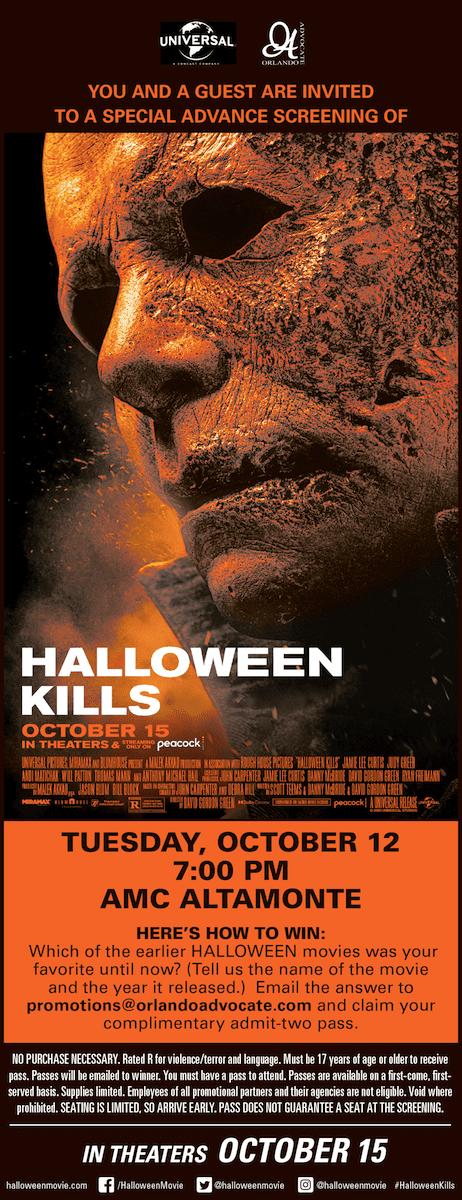 Halloween Kills: Movie Promotion
